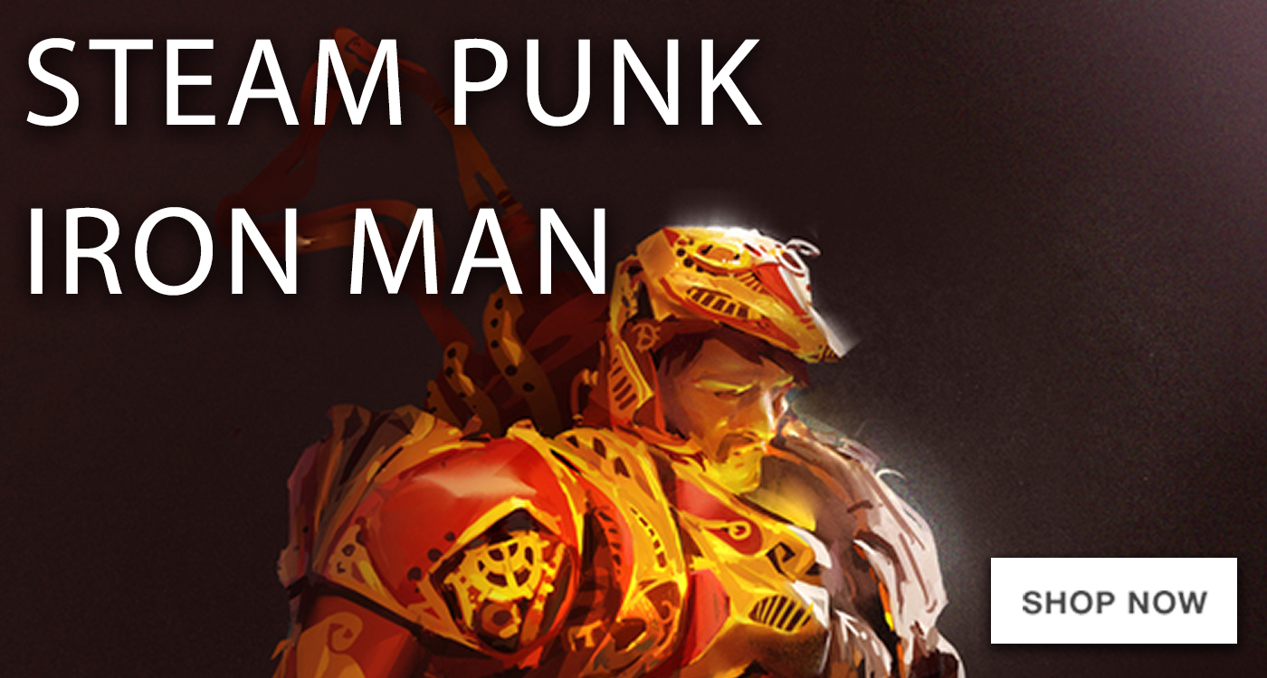 Steampunk Iron Man  – square-jumbo-feature2
