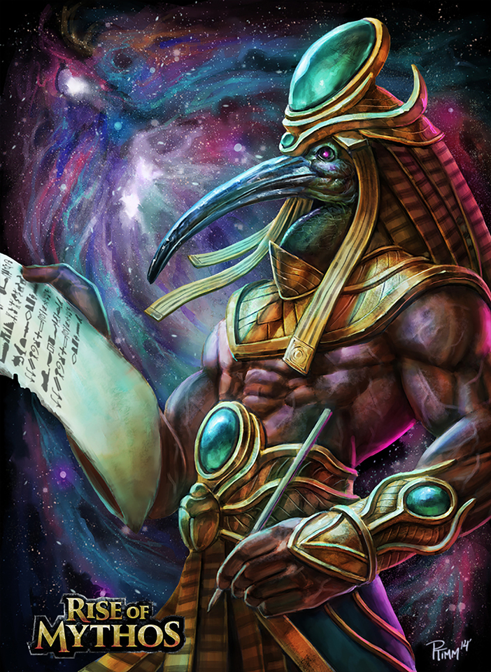 Thoth by Andy Timm