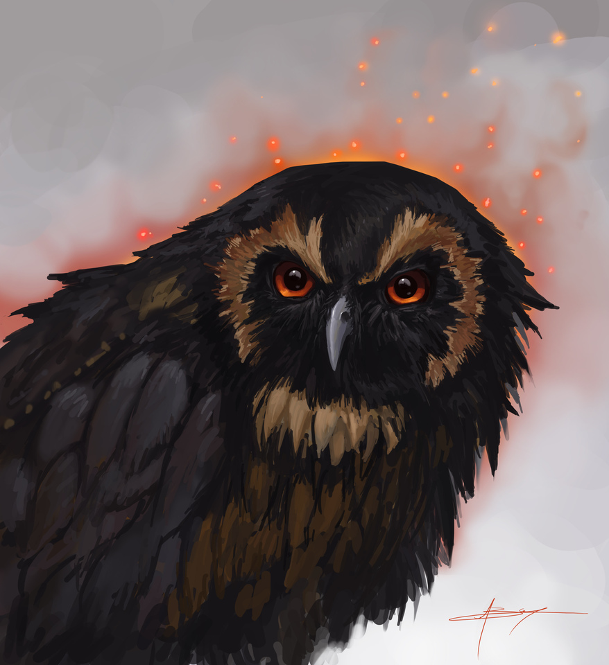 display_evil_owl