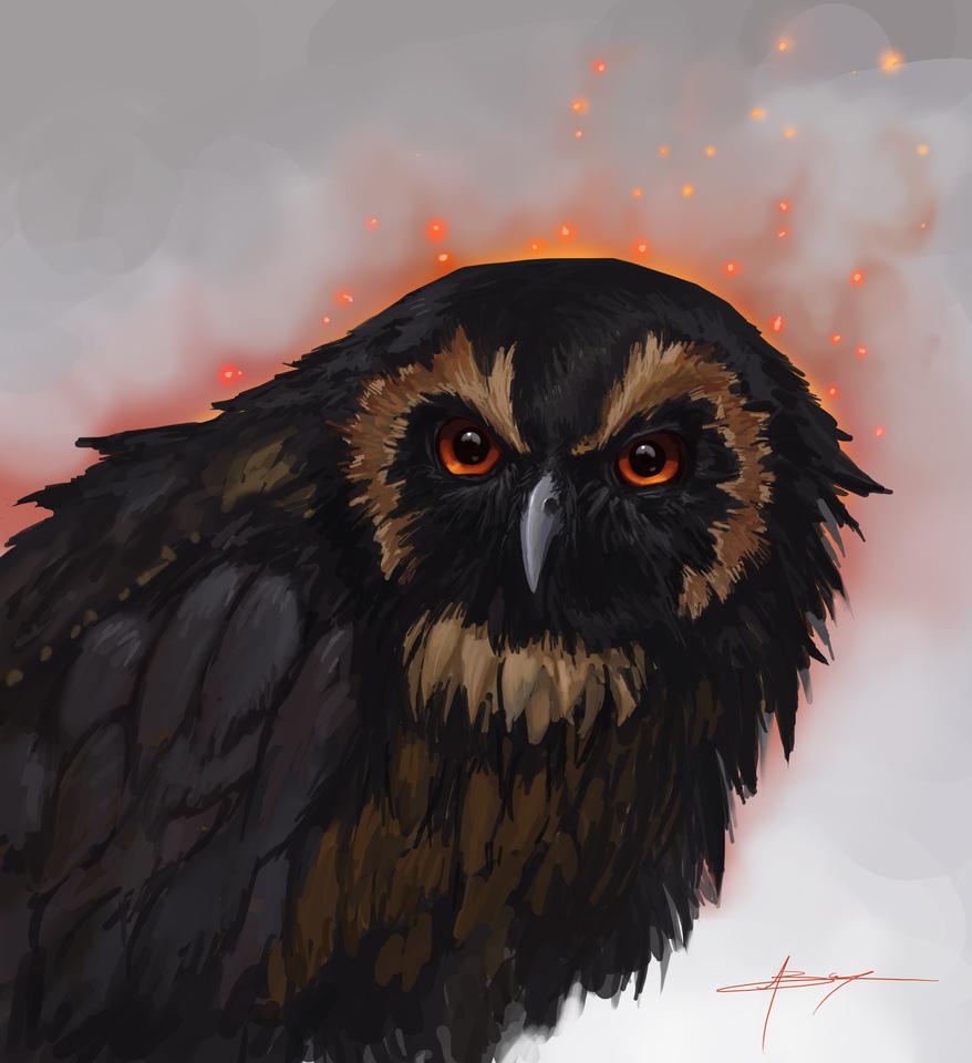 display_evil_owl