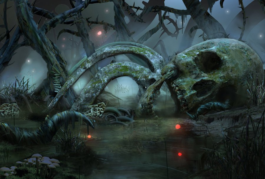 display_magic_the_gathering_swamp_redesign_fanart_by_protagonistse7en-d9nsjf3