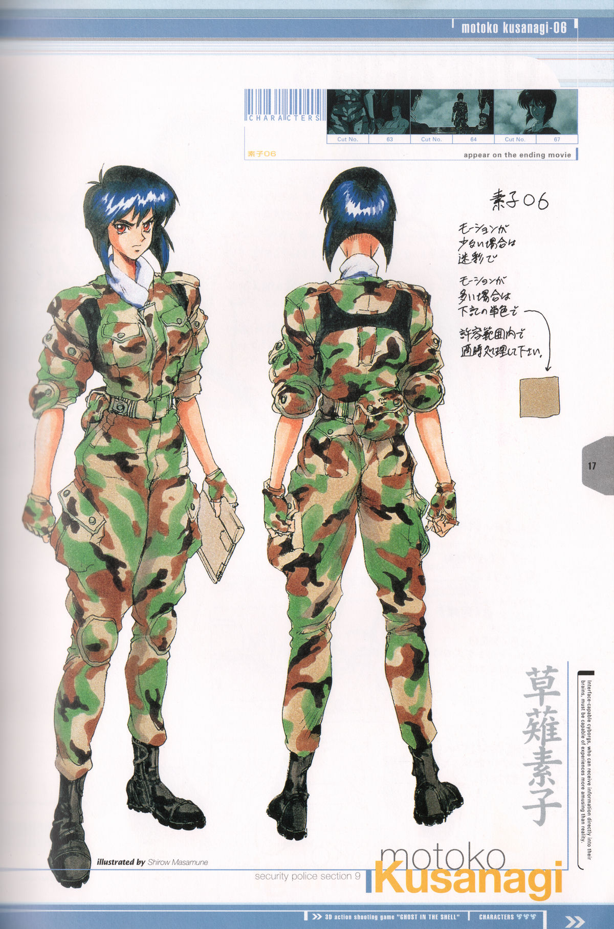 Ghost_in_the_Shell_Official_Art_Book_PSOne_Version_17