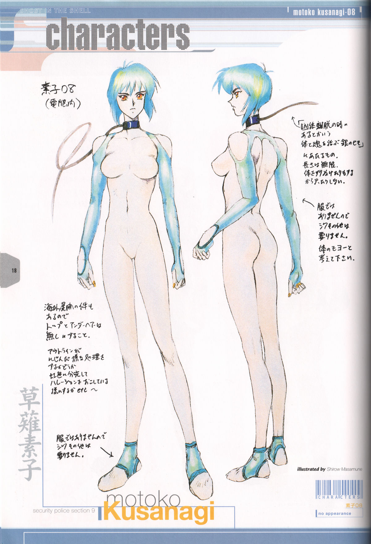 Ghost_in_the_Shell_Official_Art_Book_PSOne_Version_18