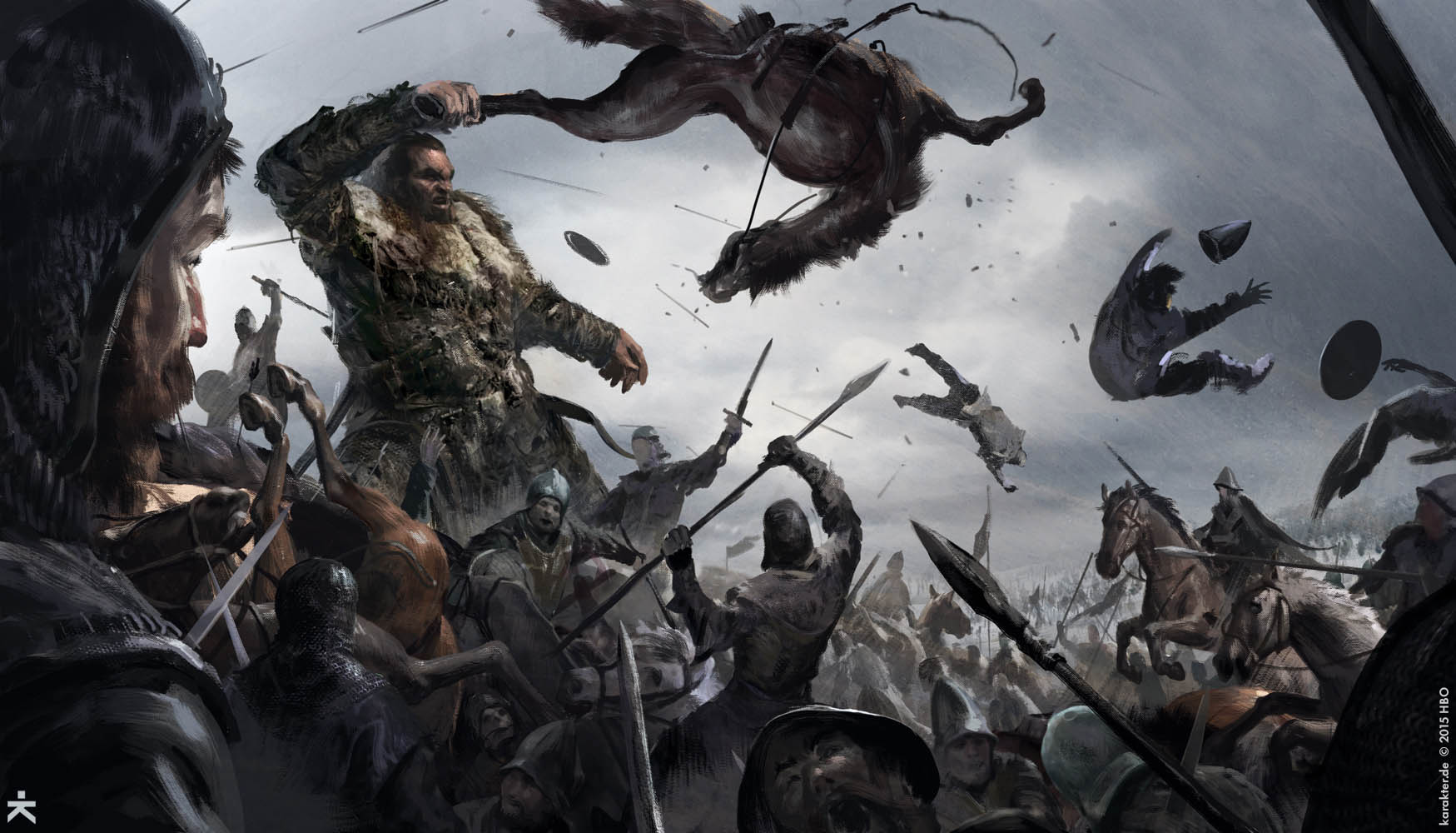 Game Of Thrones Artwork Concept Art From Season 6 Digital ArtLords