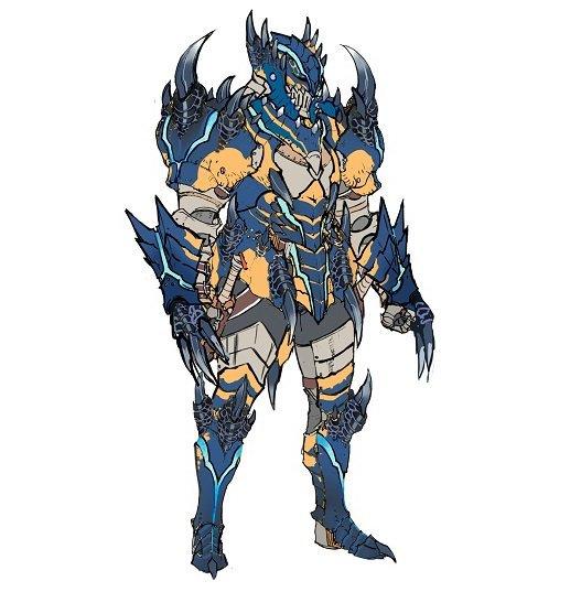 MHGen-Grimclaw_Tigrex_Armor_(Male)_Concept_Art_001