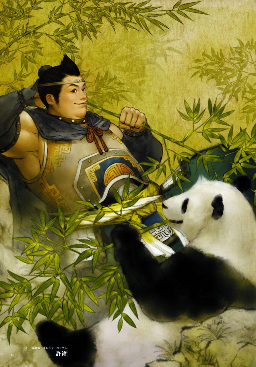 Xu_Zhu_Dynasty_Warriors_6_Artwork