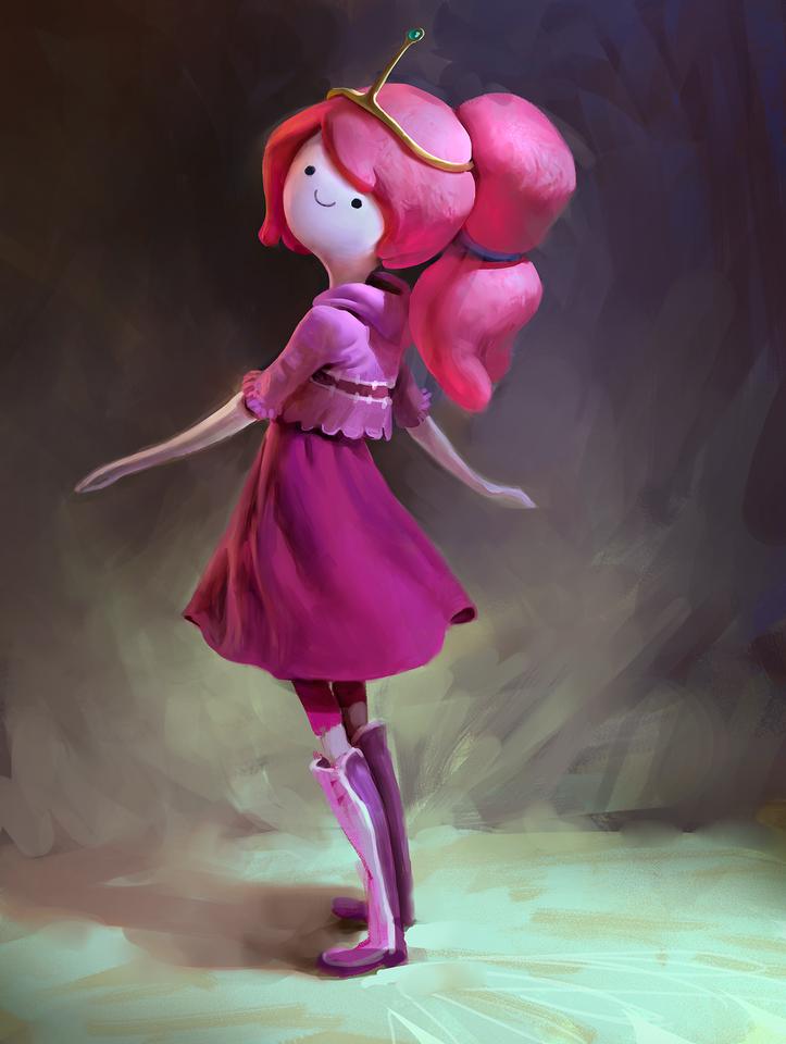 display_princess_bubblegum_by_mikeazevedo-d8459cd