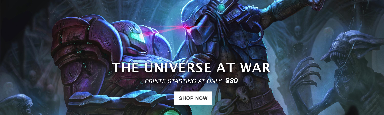 The Universe at War