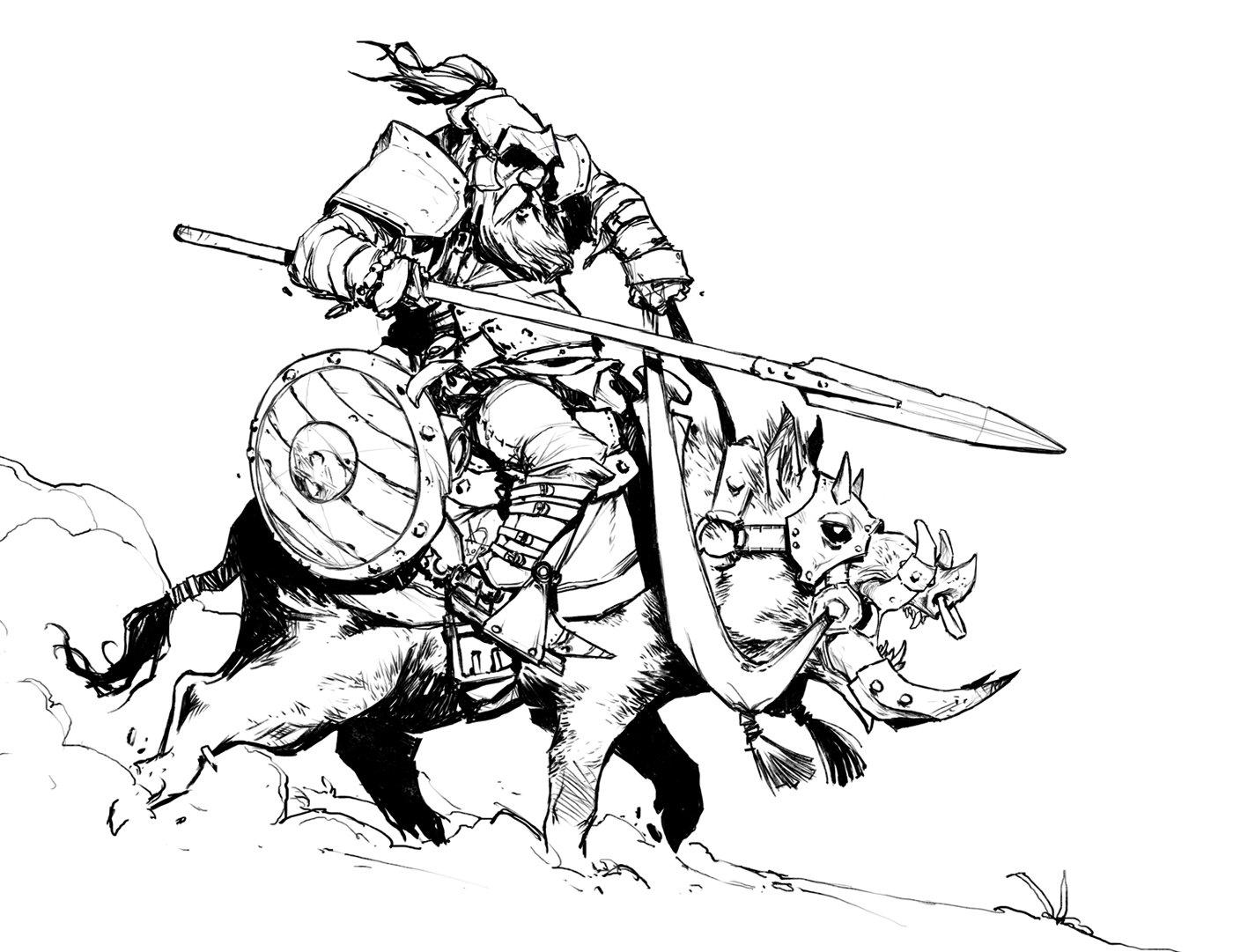 david-sequeira-boar-rider-by-davidsequeira-d8d3u6m