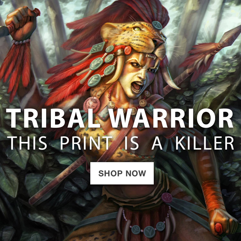 Tribal Warrior – square-jumbo-ad