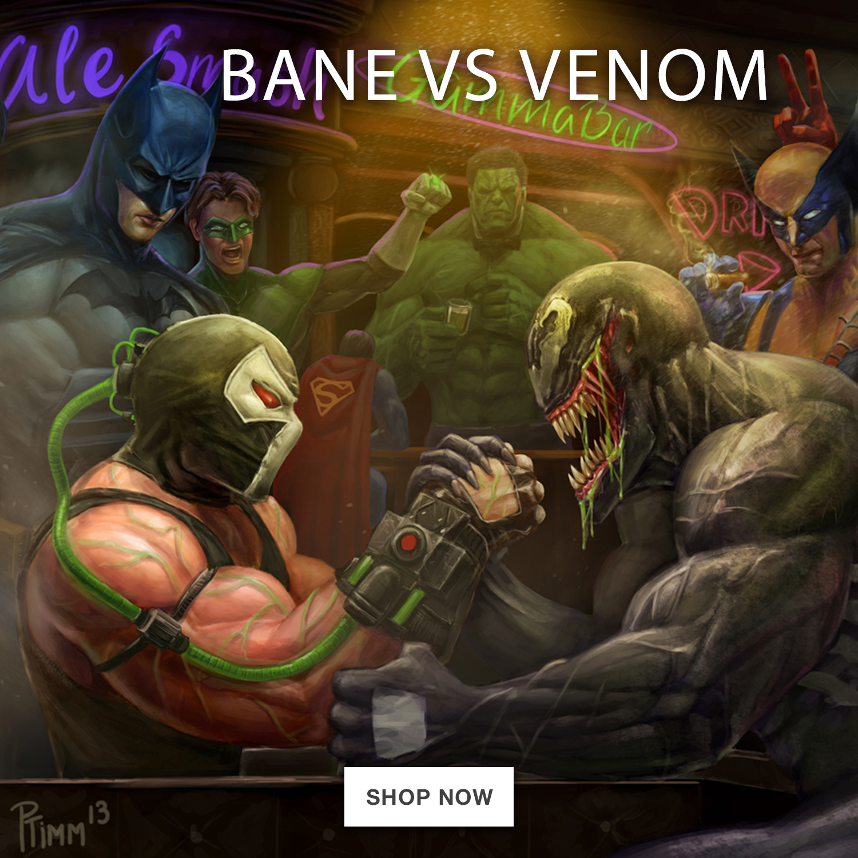 Bane vs Venom Promo – square-jumbo-ad