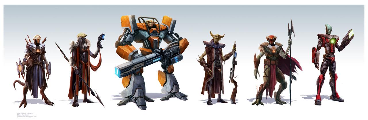 display_blakehenriksen_alien_bounty_hunters_robotpencil