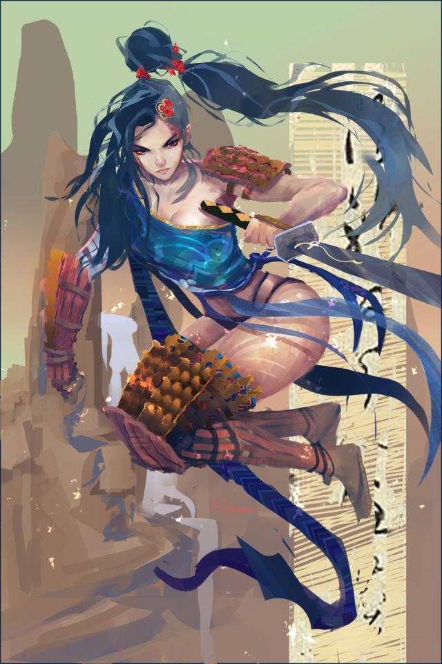 display_female_samuraio_clean