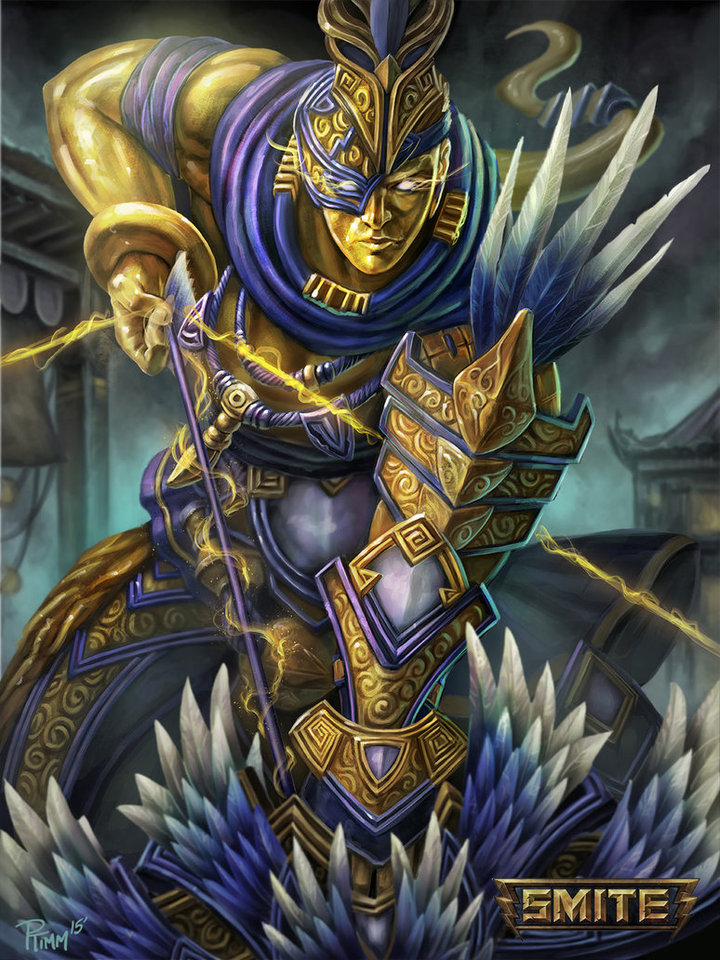 display_official_hou_yi_smite_gold_card_by_ptimm-d8ly7rw