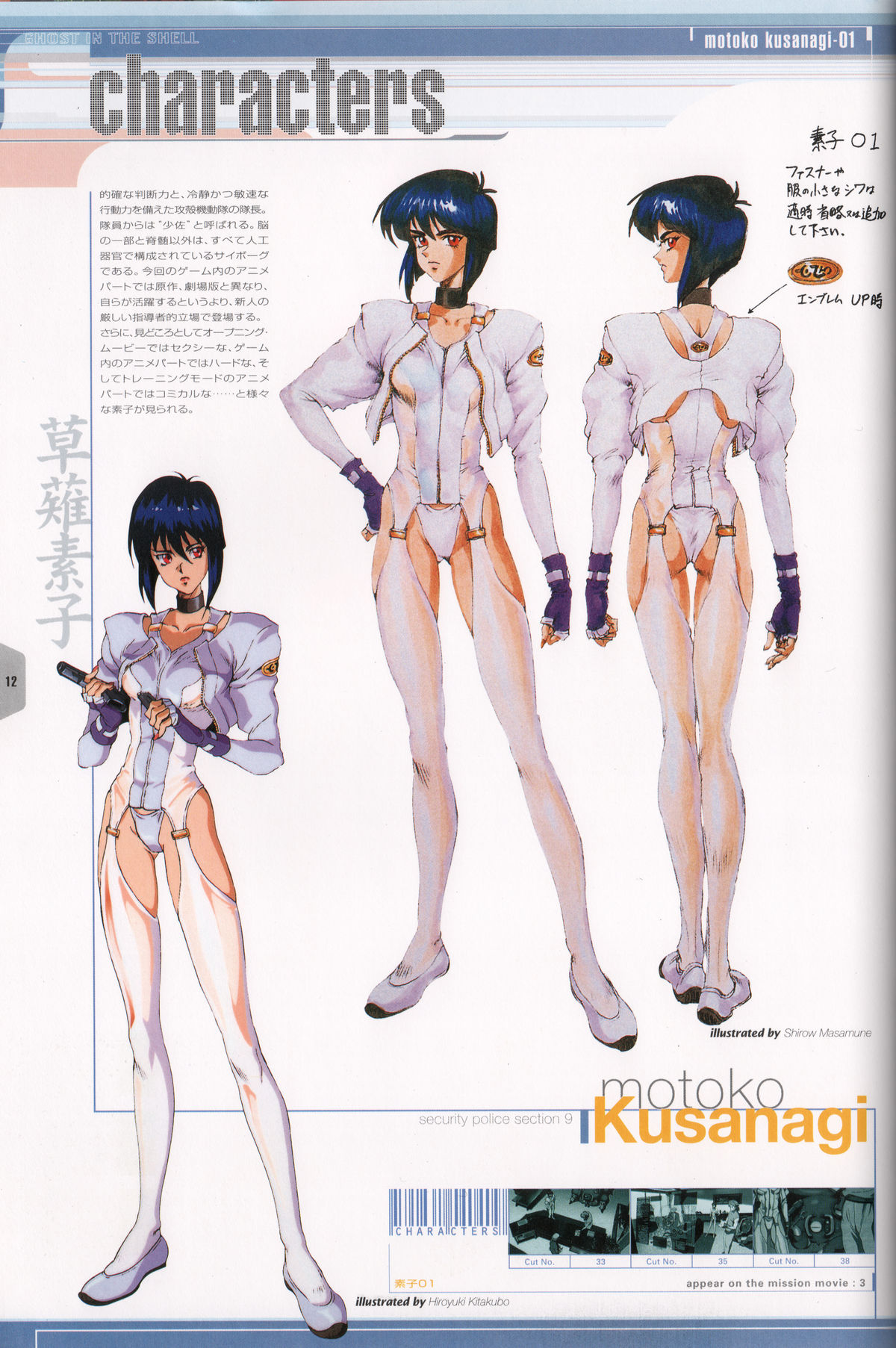 Ghost_in_the_Shell_Official_Art_Book_PSOne_Version_12