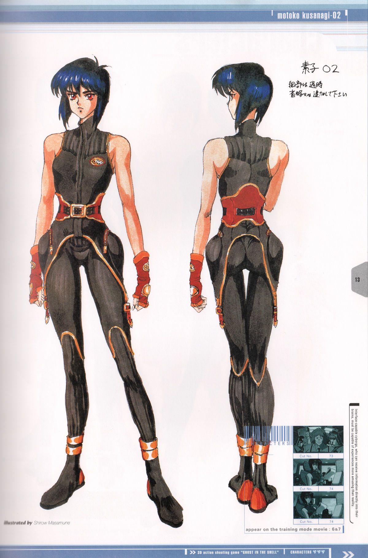 Ghost_in_the_Shell_Official_Art_Book_PSOne_Version_13