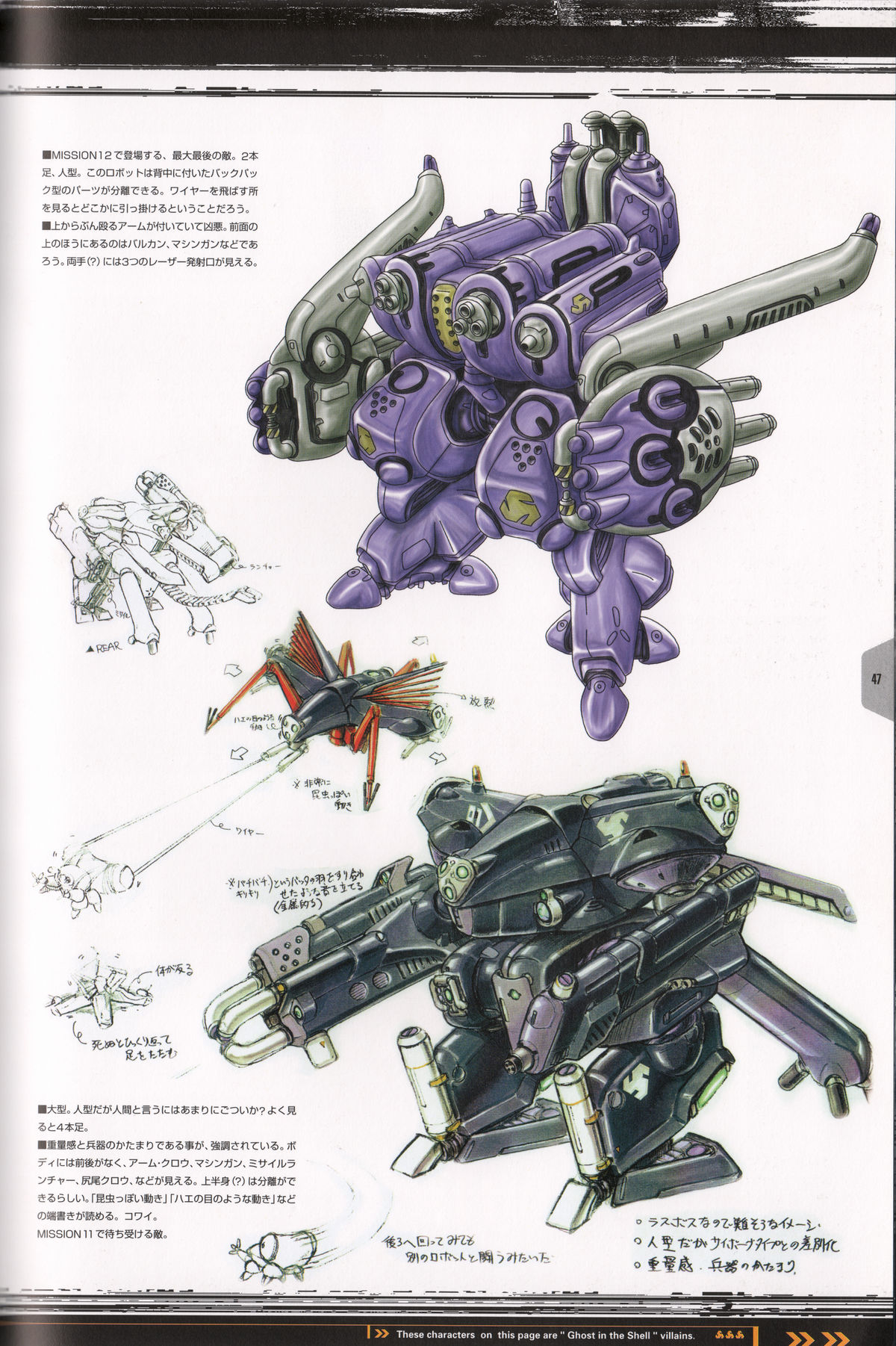 Ghost_in_the_Shell_Official_Art_Book_PSOne_Version_47